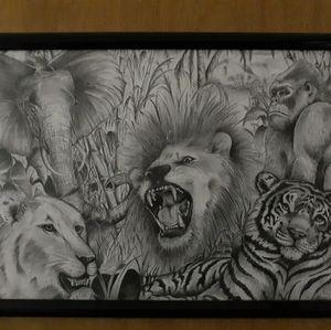 Original artwork by Brunelle